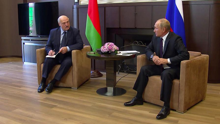 Песков заявил, что у Путина и Лукашенко нет дефицита общения