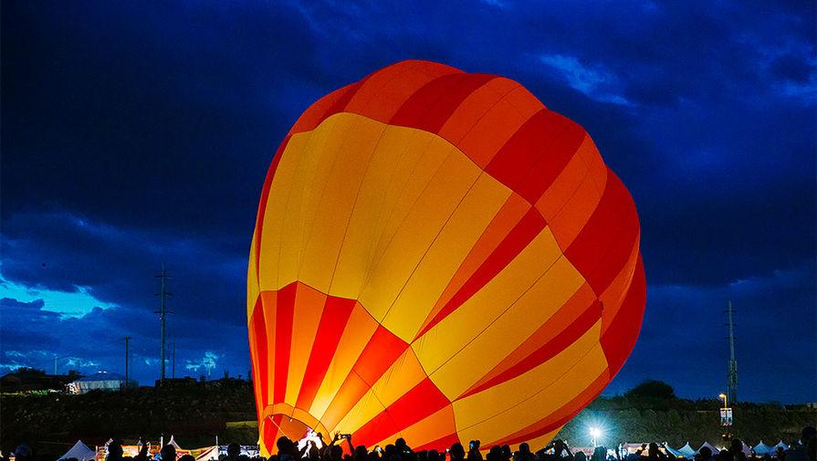 Воздушный шар рухнул на дом в Новой Зеландии
