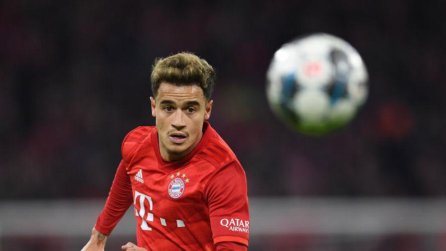 'Бавария' не будет выкупать у 'Барселоны' Коутиньо
