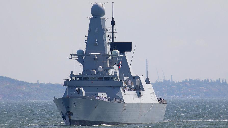 ФСБ предупреждала британский корабль об открытии огня при пересечении границы в Крыму
