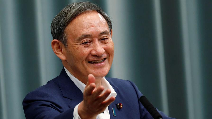 Путин поздравил Есихидэ Сугу с избранием на пост премьера Японии