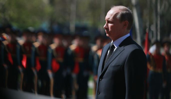 'Самый дорогой праздник': Путин поздравил россиян с Днем Победы