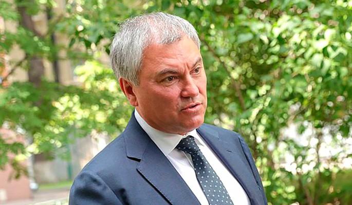 Володин рассказал, как поправки к Конституции изменят жизнь россиян