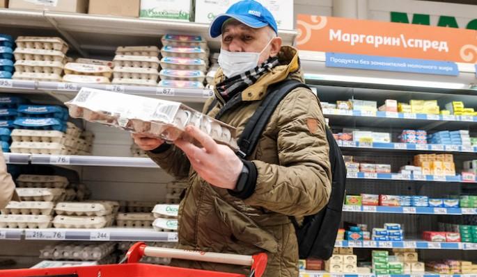 Москвичей ждет скачок цен на продукты из-за проблем с поставками