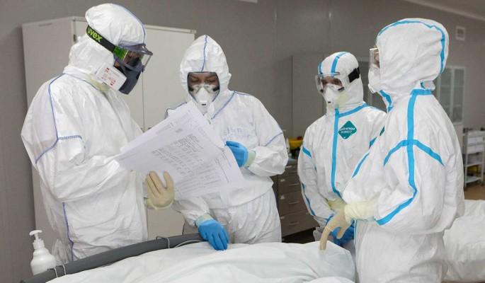 Суточный прирост заразившихся коронавирусом в России вновь превысил 13 тысяч