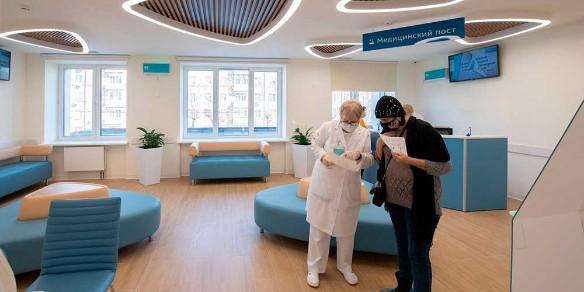 По новому стандарту: в Москве реконструировали еще две поликлиники
