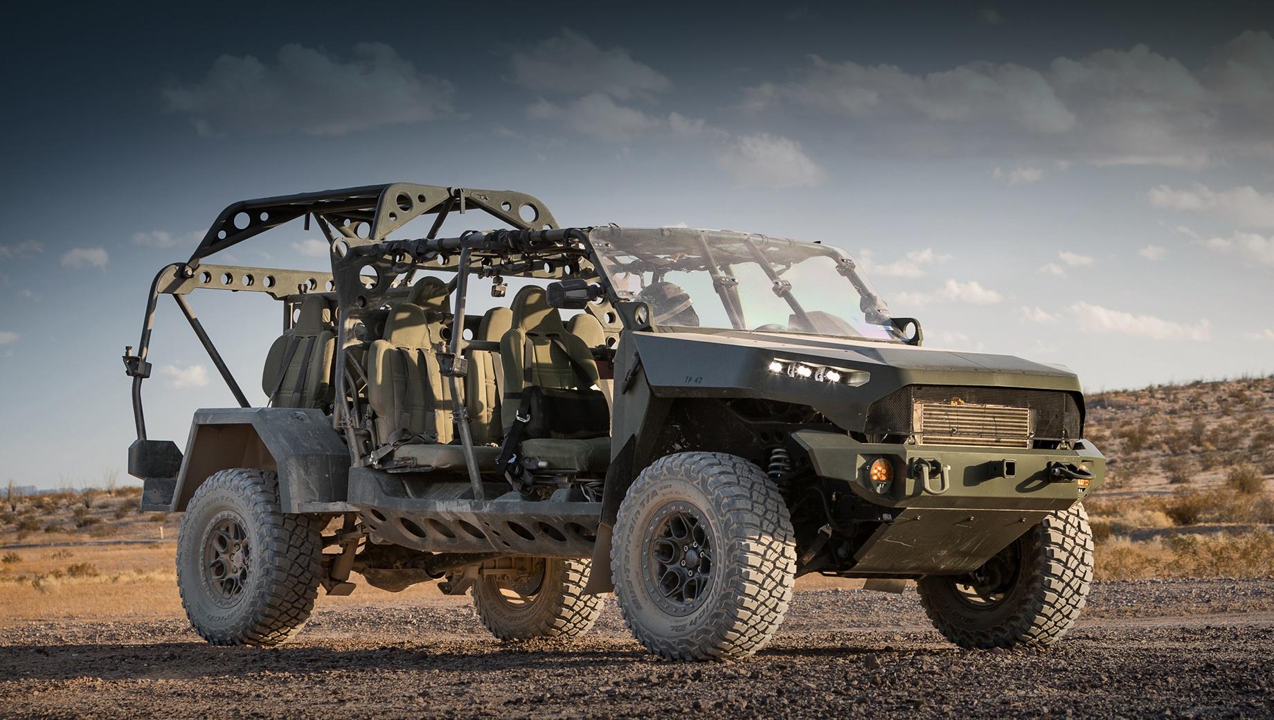 Пикап Chevrolet Colorado ZR2 отправлен с гонок в армию