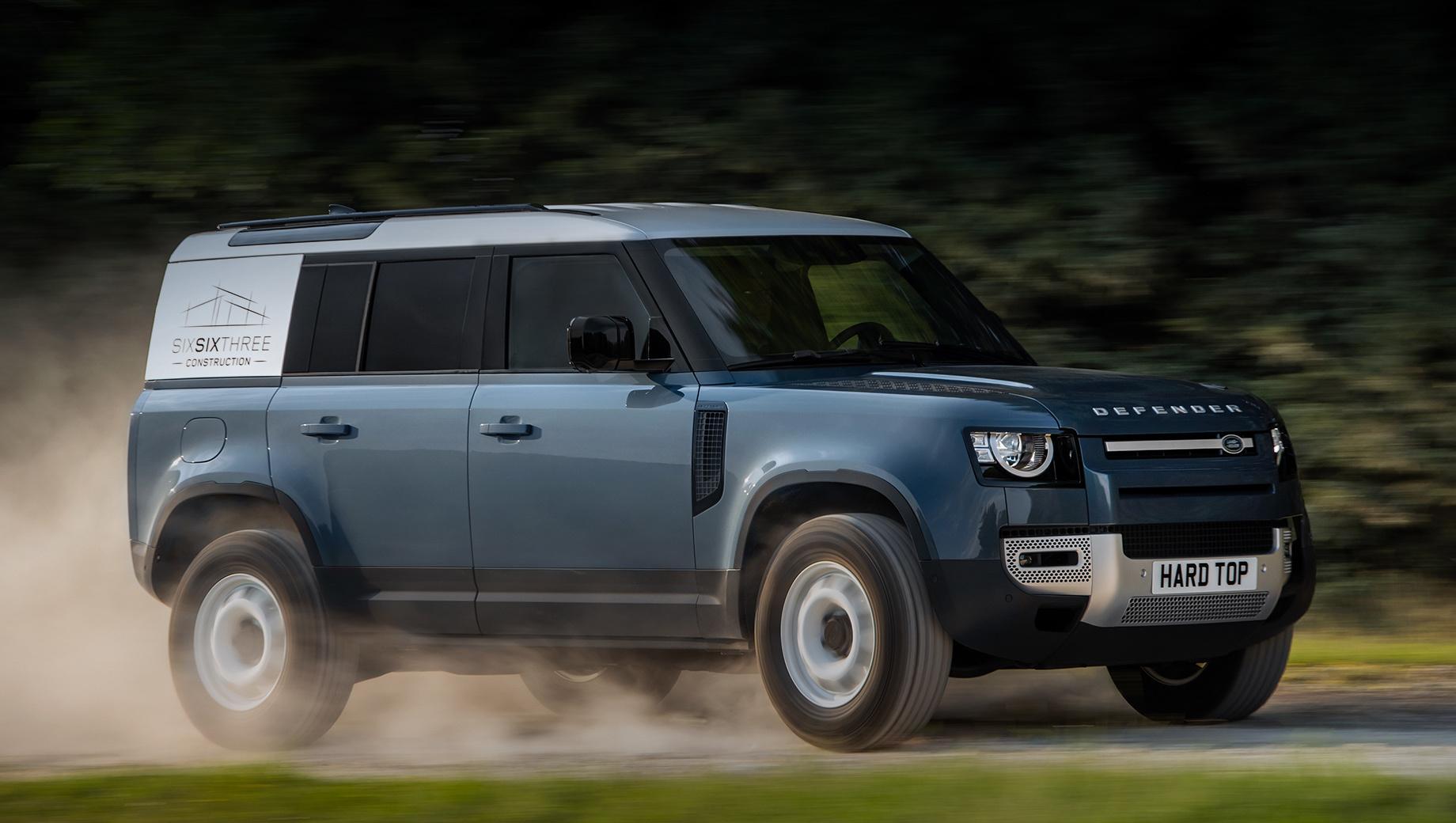 Грузовой Land Rover Defender получил имя Hard Top