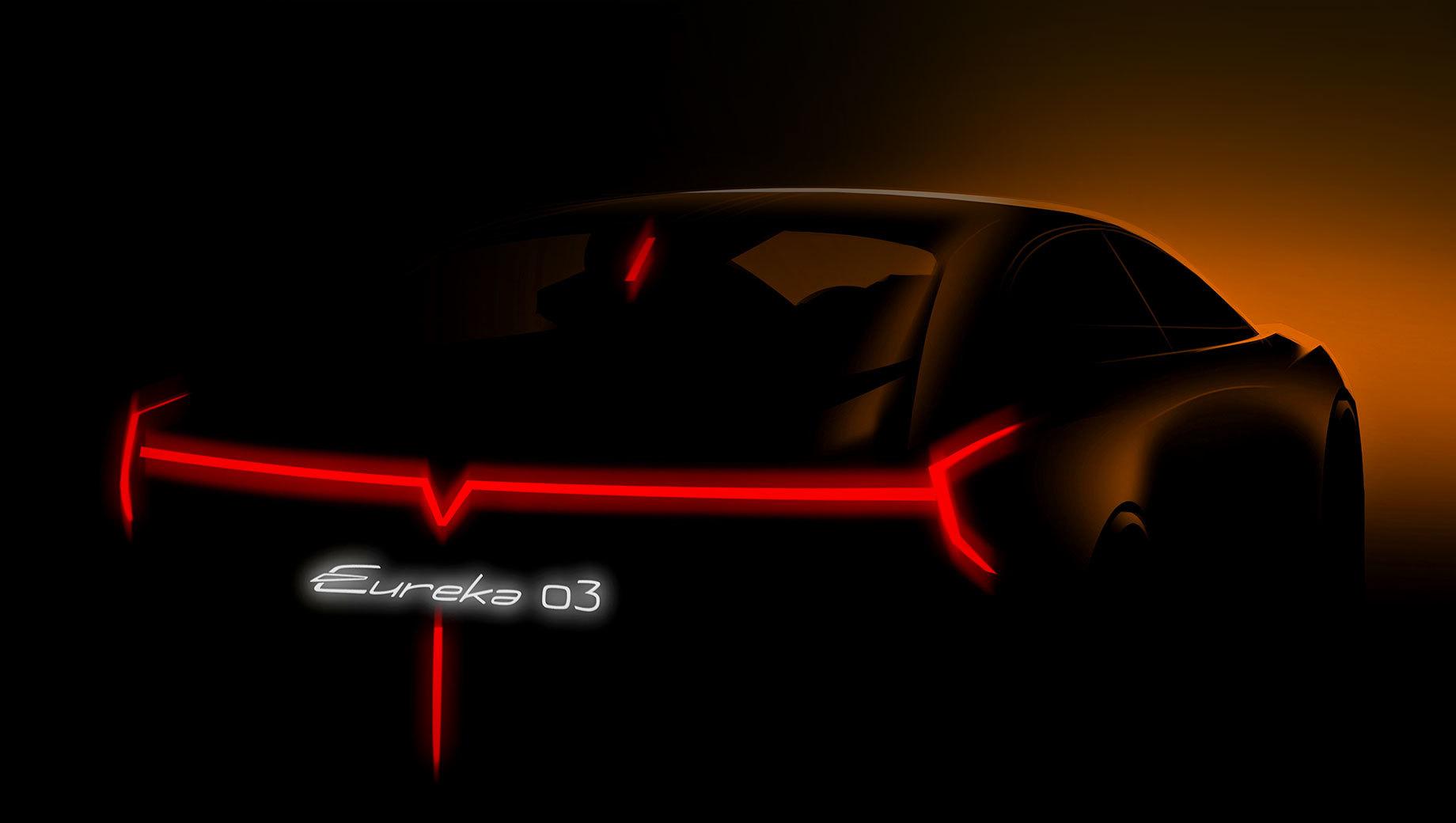 Концепт Hozon Eureka 03 присоседился к Ferrari