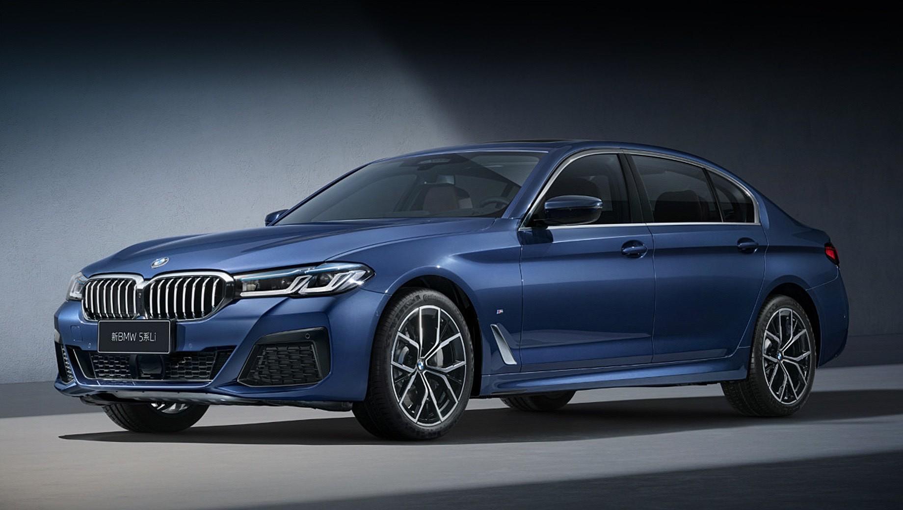 Удлинённая «пятёрка» BMW получила новый силовой агрегат