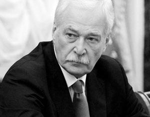 Грызлов обвинил Киев в «гуманитарной катастрофе» в Донбассе