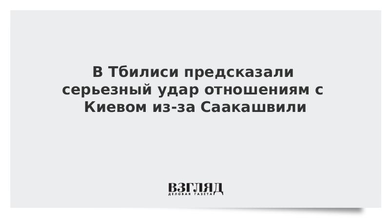 В Тбилиси предсказали серьезный удар отношениям с Киевом из-за Саакашвили
