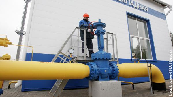 Белоруссия заявила, что рассчиталась за российский газ