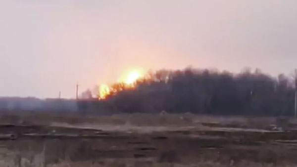 В Полтавской области Украины прогремел взрыв на газопроводе