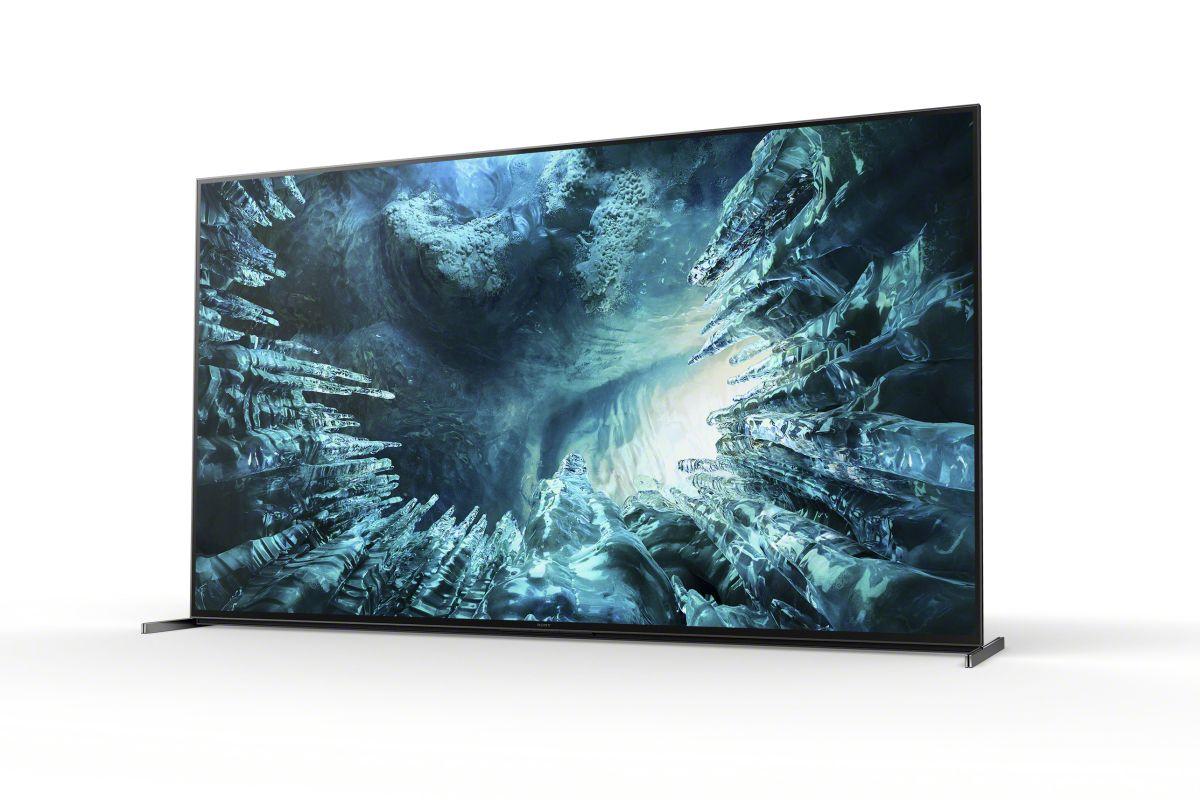 Телевизоры Sony ZH8 8K HDR Full Array LED TV поступят в продажу в начале июня