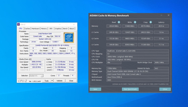 Обзор процессора Intel Pentium Gold G6400