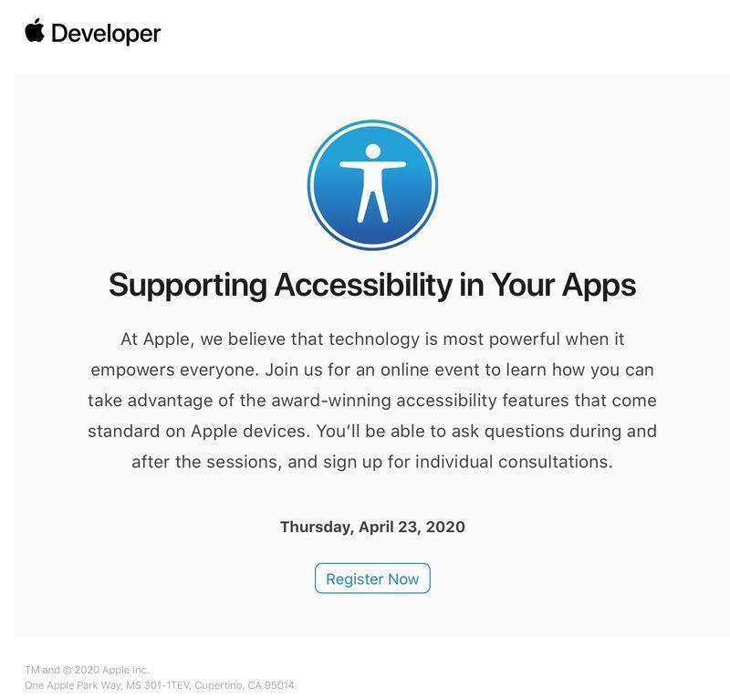 Apple пригласил некоторых разработчиков на онлайн-сессию перед WWDC