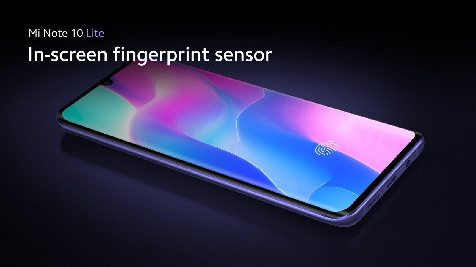 Xiaomi представила Lite-версию смартфона Xiaomi Mi Note 10 в России