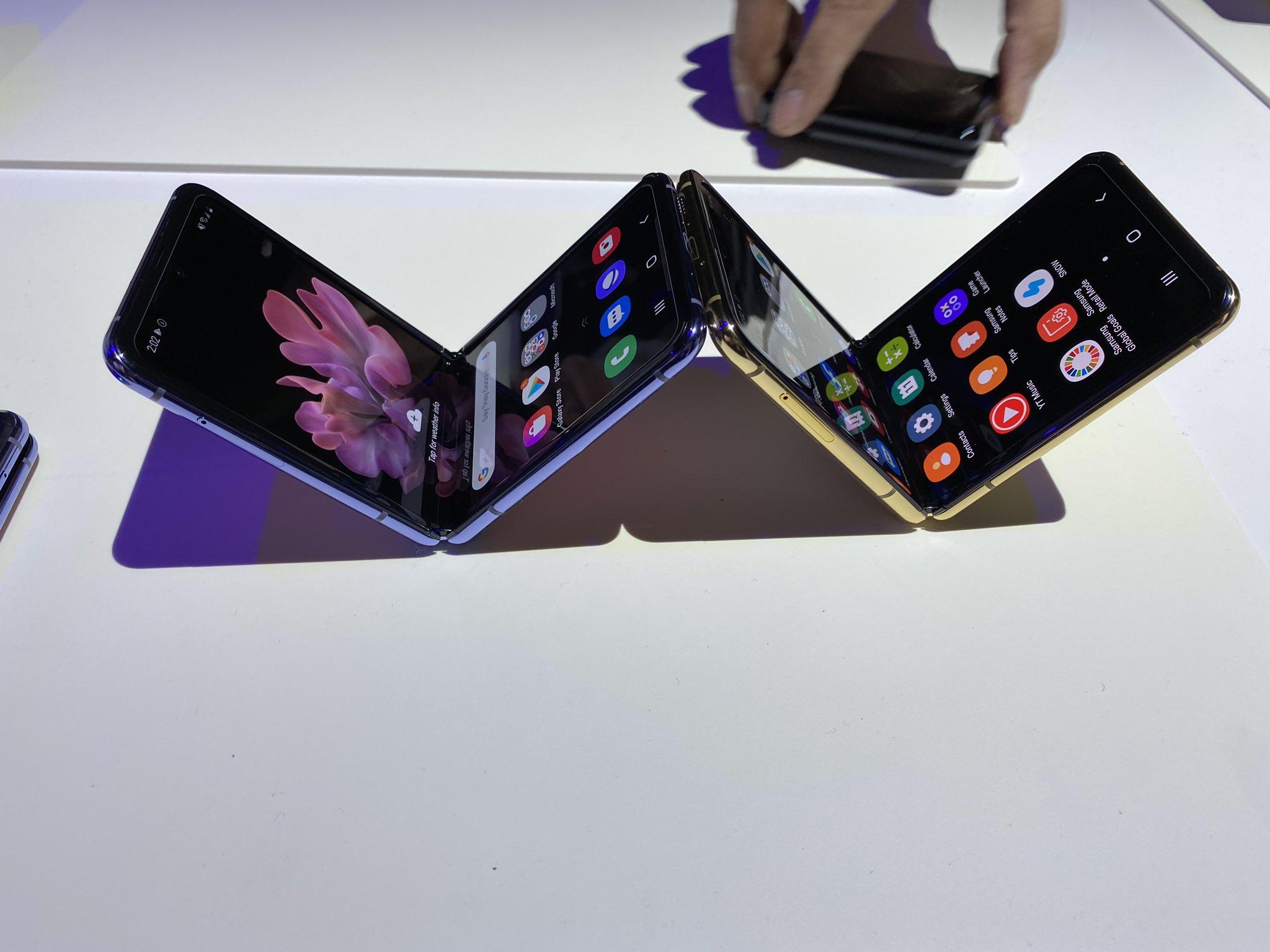 Samsung Galaxy Z Flip 5G засветился в базе TENAA