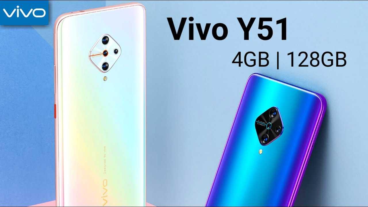 Vivo представила смартфон Vivo Y51 (2020)