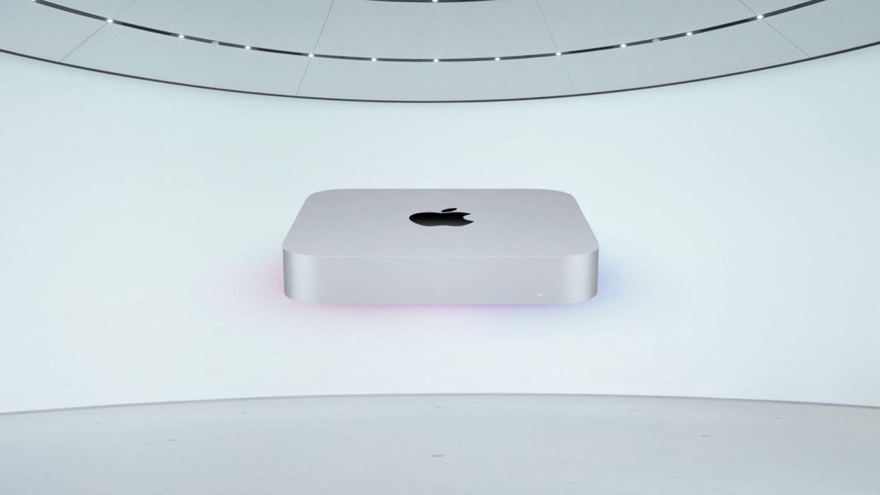 Apple представила новый Mac mini на базе процессора Apple M1