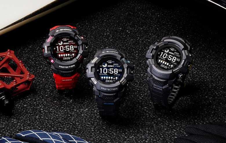 Casio представила первые умные часы в линейке G‑Shock