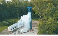 Немецкую космическую ракету разорвало на испытаниях