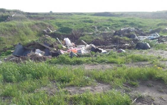 Захват земель в Курском районе совместили с мусорным прессингом
