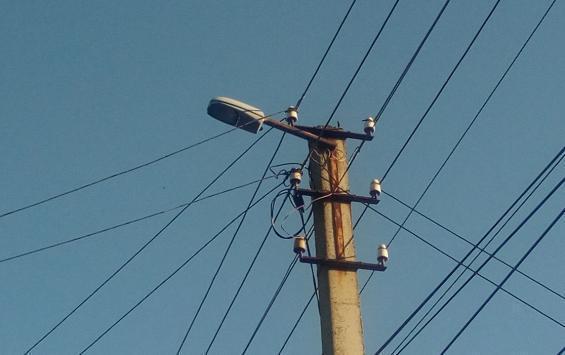 В регионе построят 56 километров линий освещения