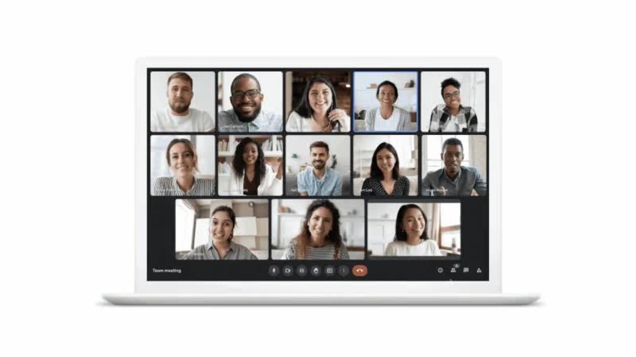 Google в мае обновит интерфейс сервиса видеоконференций Meet — добавит замену фона и другие функции