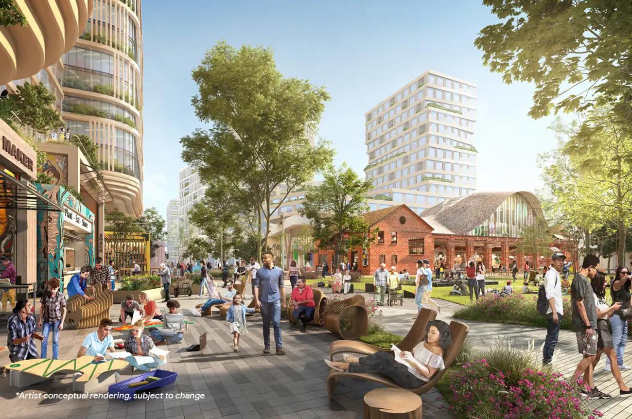 Google получила разрешение на строительство кампуса на 20 тысяч человек в Сан-Хосе после четырёх лет переговоров