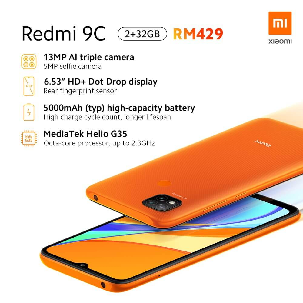 Представлены Redmi 9A и Redmi 9C – самые доступные смартфоны Xiaomi