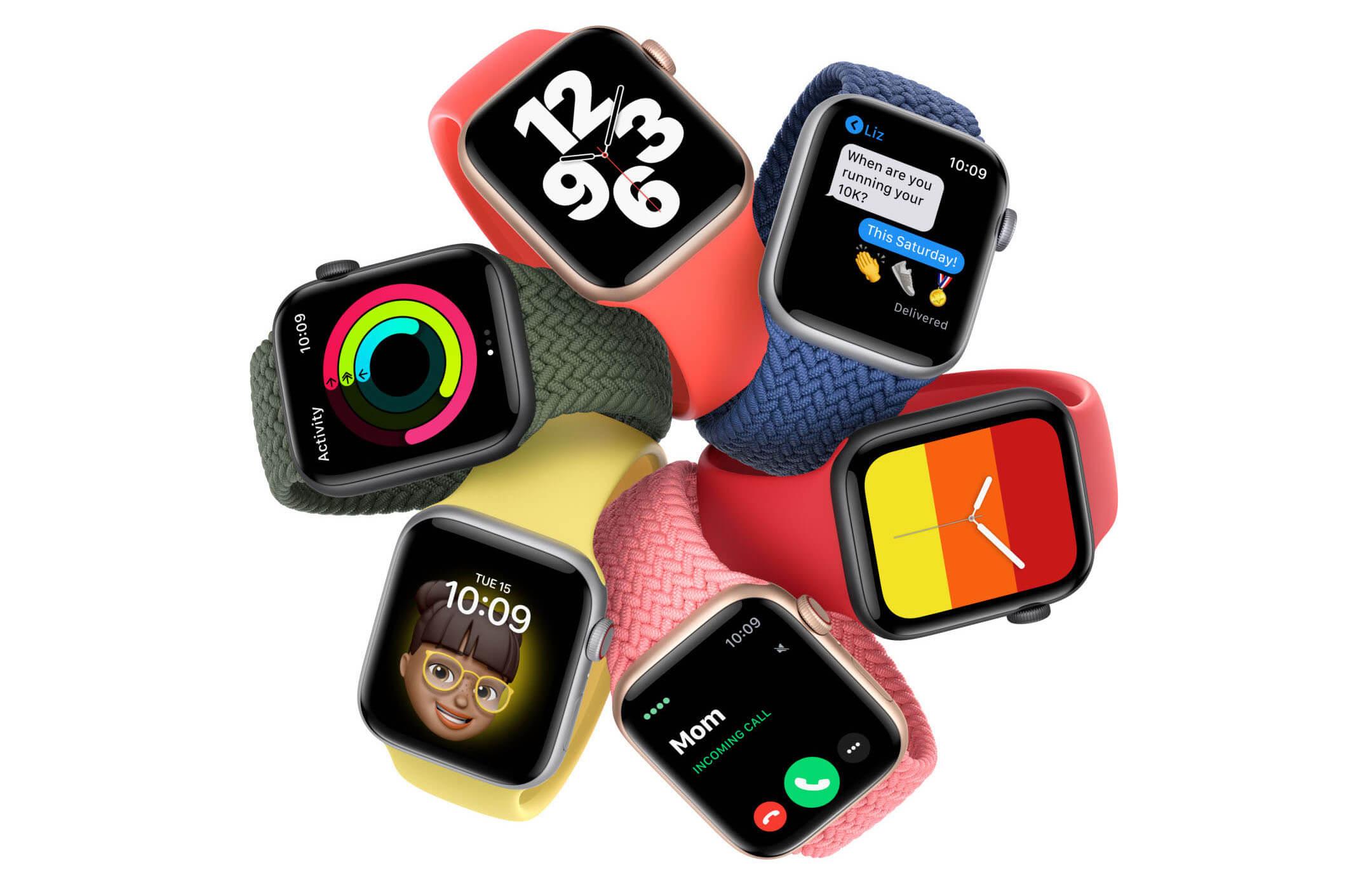 В России стартовали продажи Apple Watch Series 6 и Watch SE