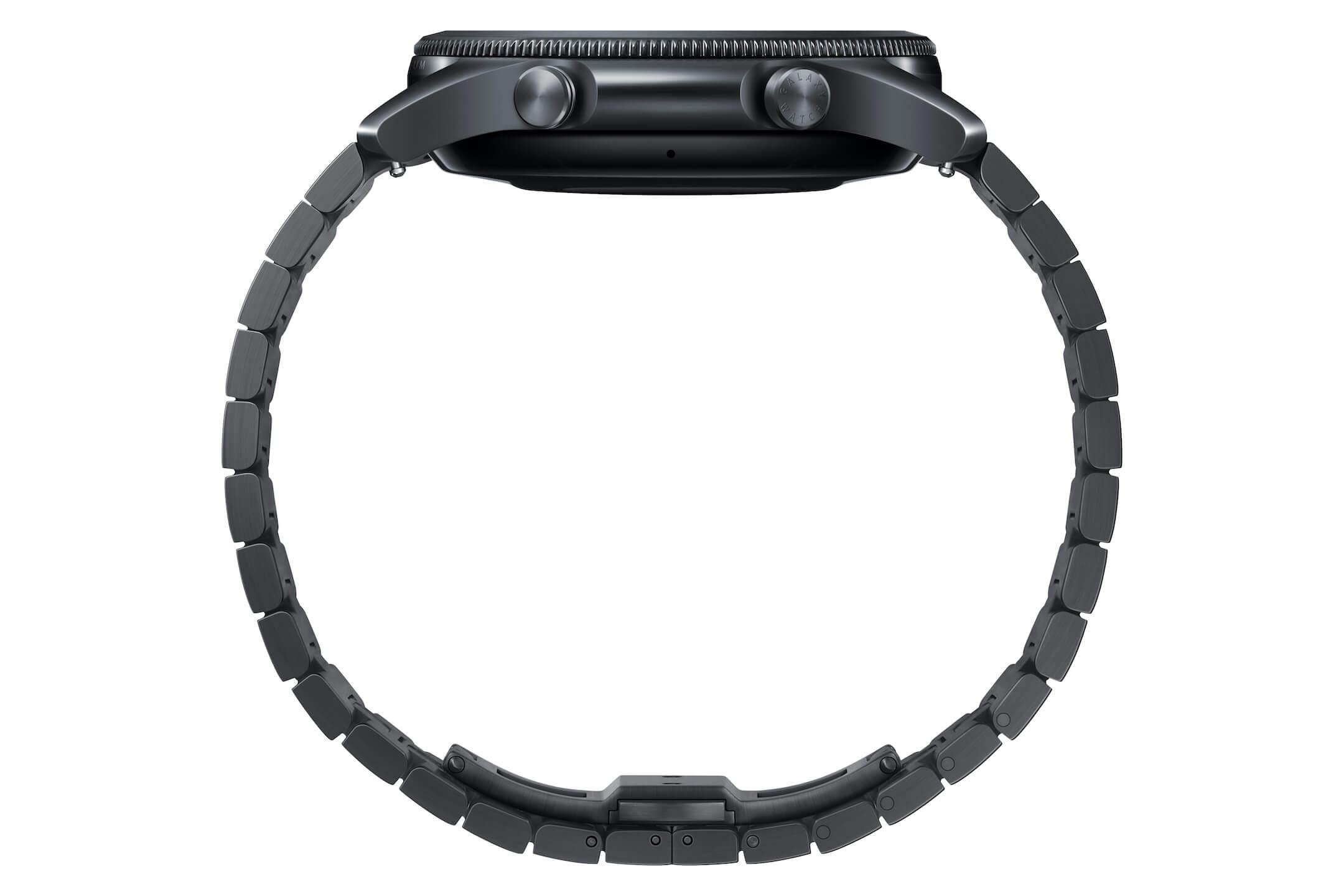 Samsung представила титановые смарт-часы Galaxy Watch 3 Titanium