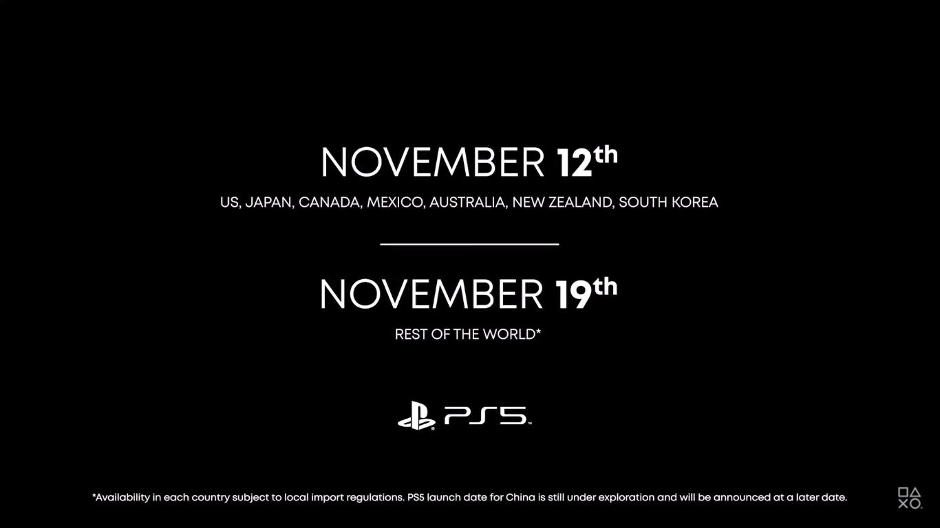 Официально: PlayStation 5 будет стоить от $400 и выйдет 12 ноября
