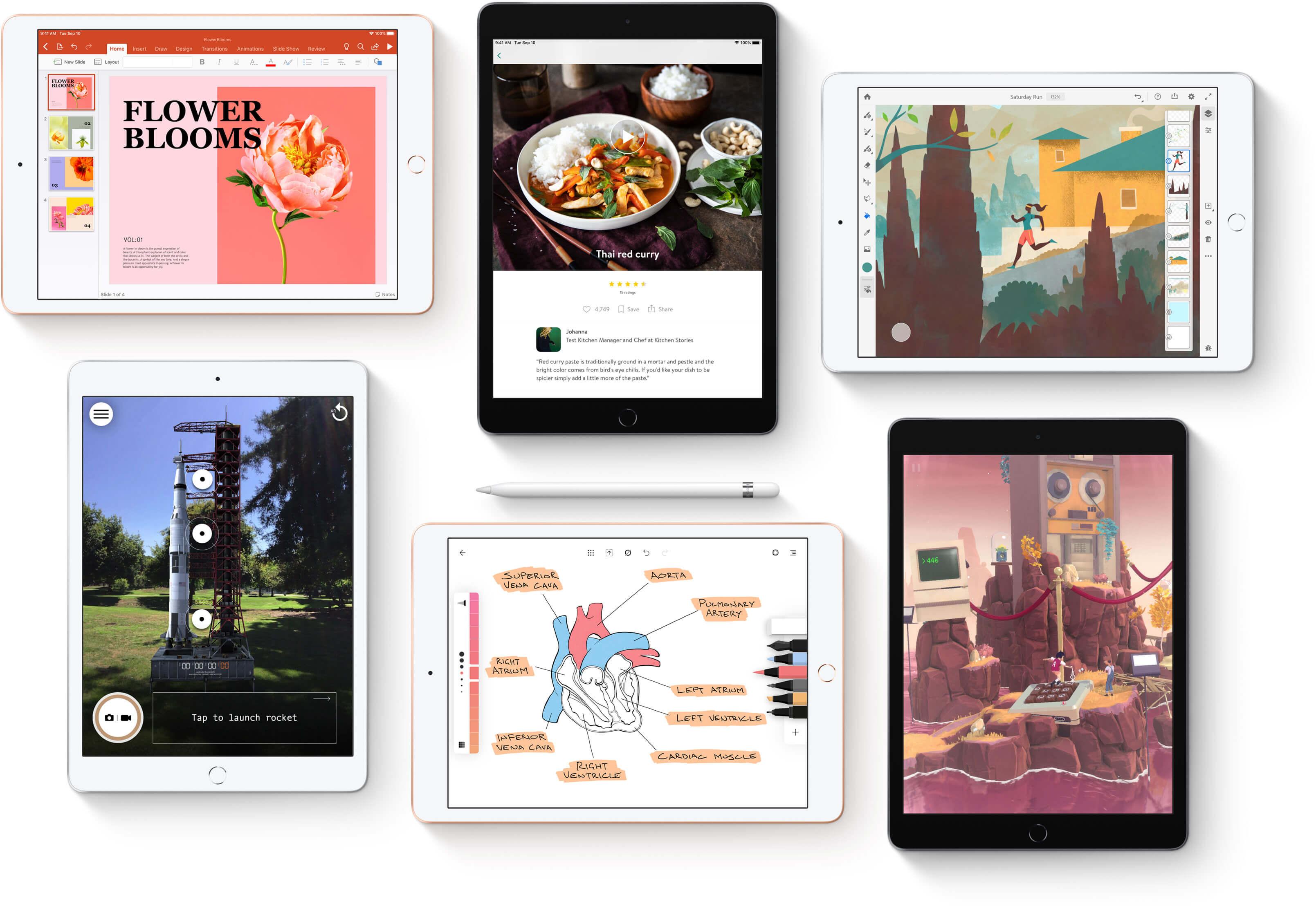 Apple представила недорогой 10.2-дюймовый iPad с зарядкой USB Type-C
