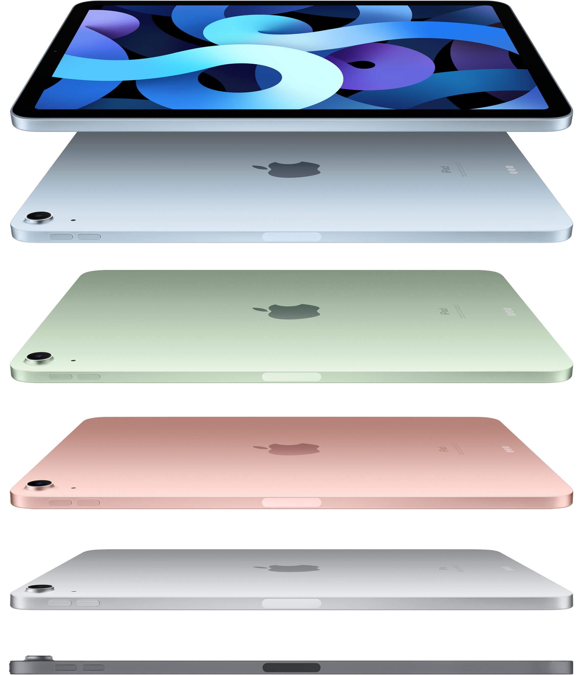 Apple представила безрамочный iPad Air с USB Type-C