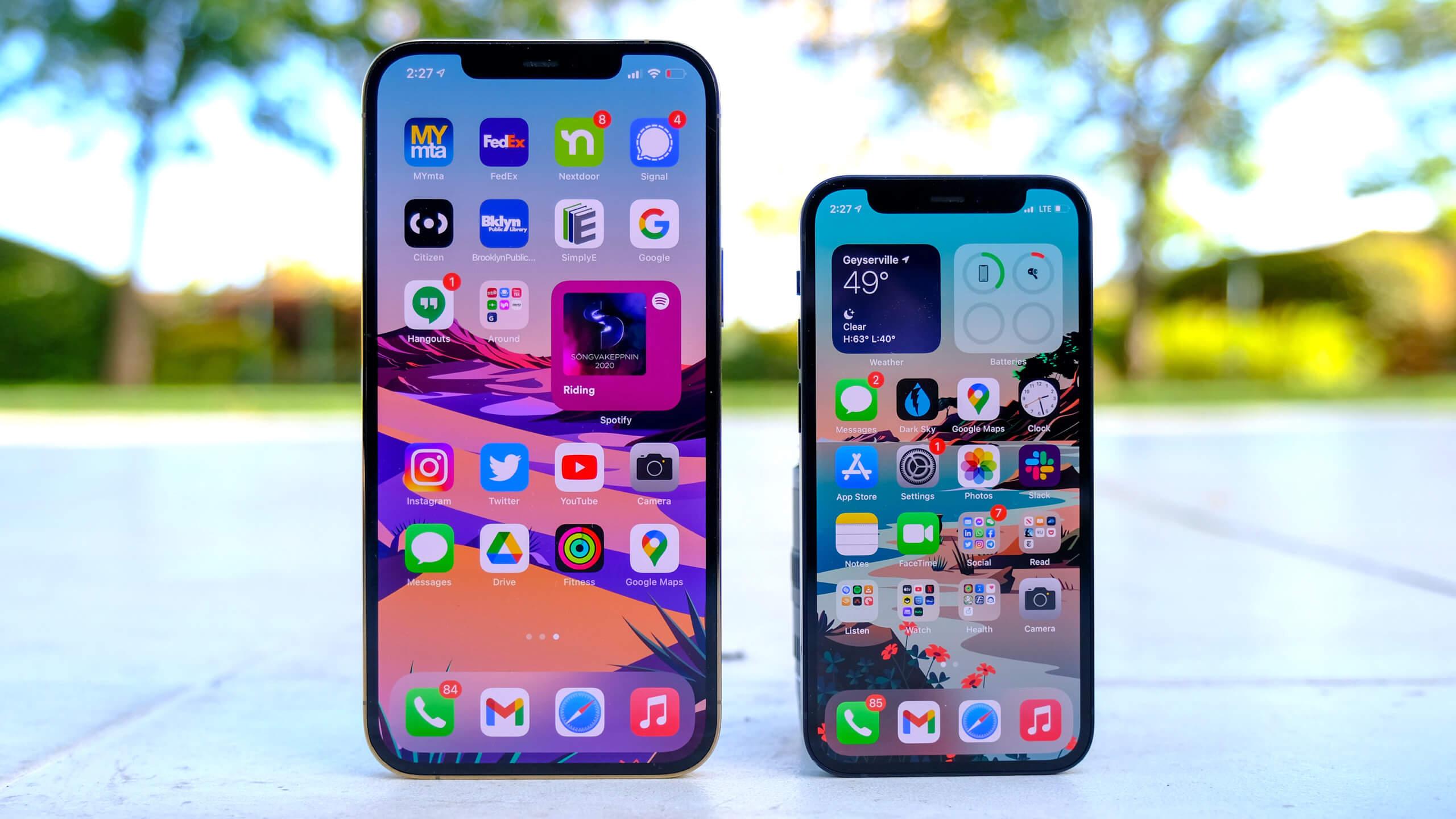 iPhone 12 Pro Max и iPhone 12 mini поступили в продажу