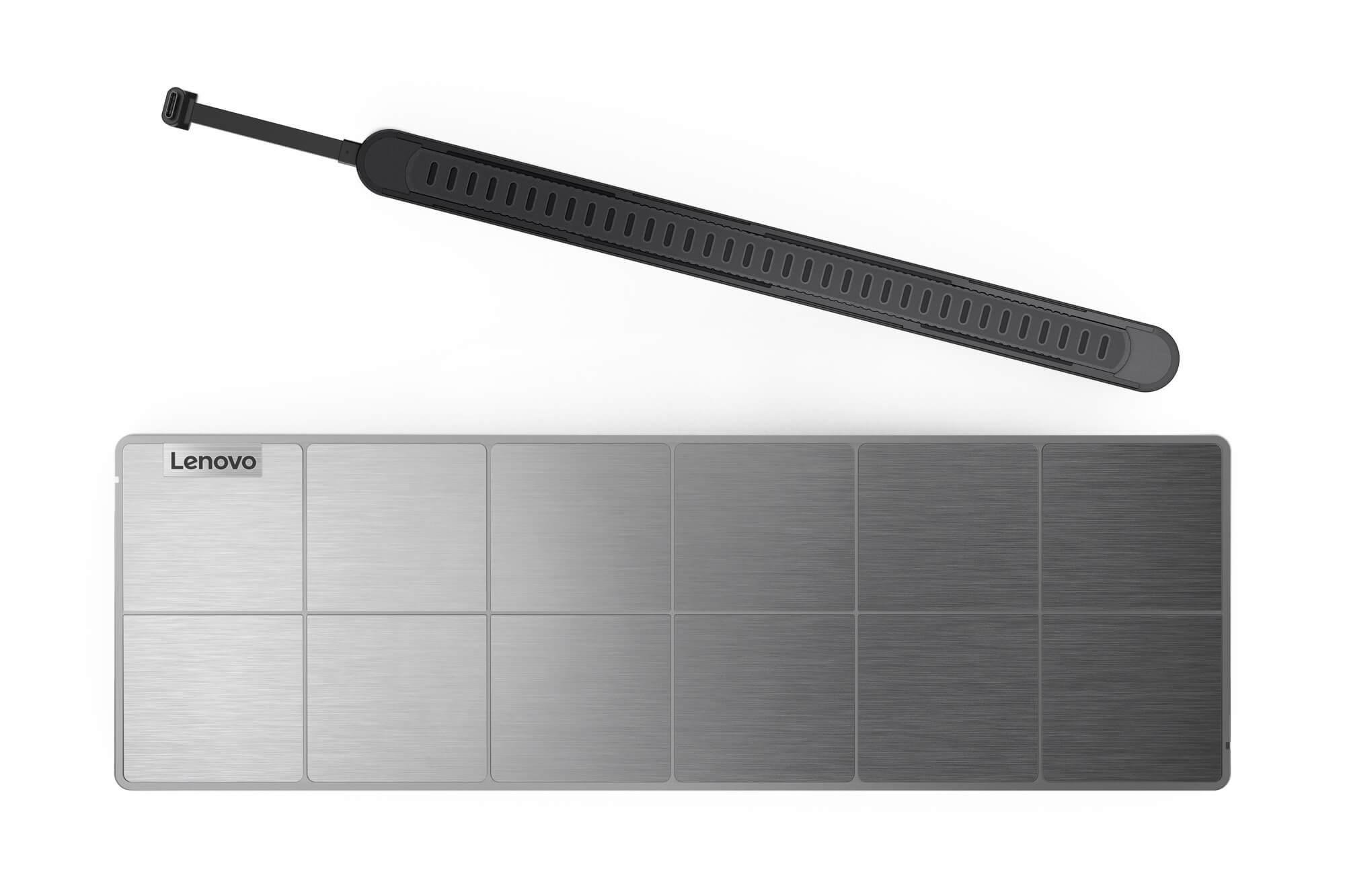 Lenovo представила беспроводную зарядку для ноутбука