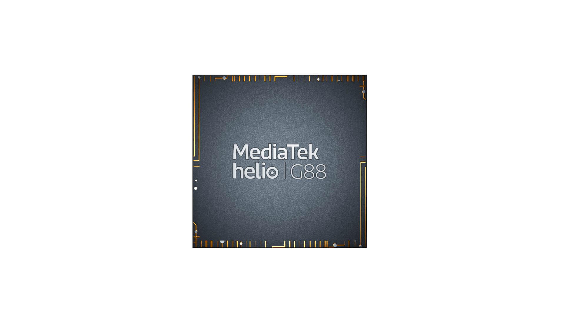 MediaTek представила процессоры Helio G88 и Helio G96