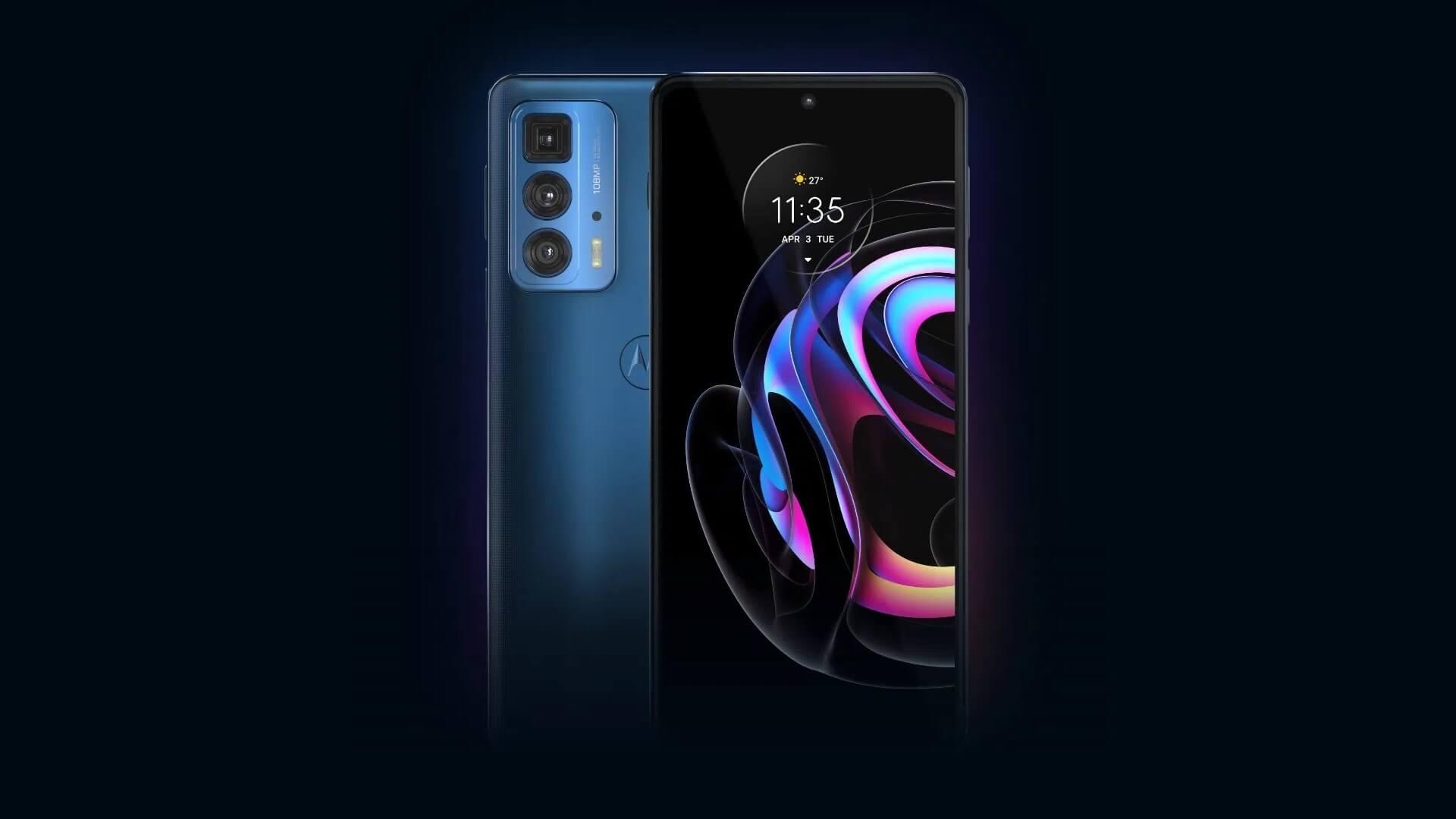Motorola Edge 20 Pro выходит России – 108 Мп, 144 Гц, 12 ГБ ОЗУ и Snapdragon 870