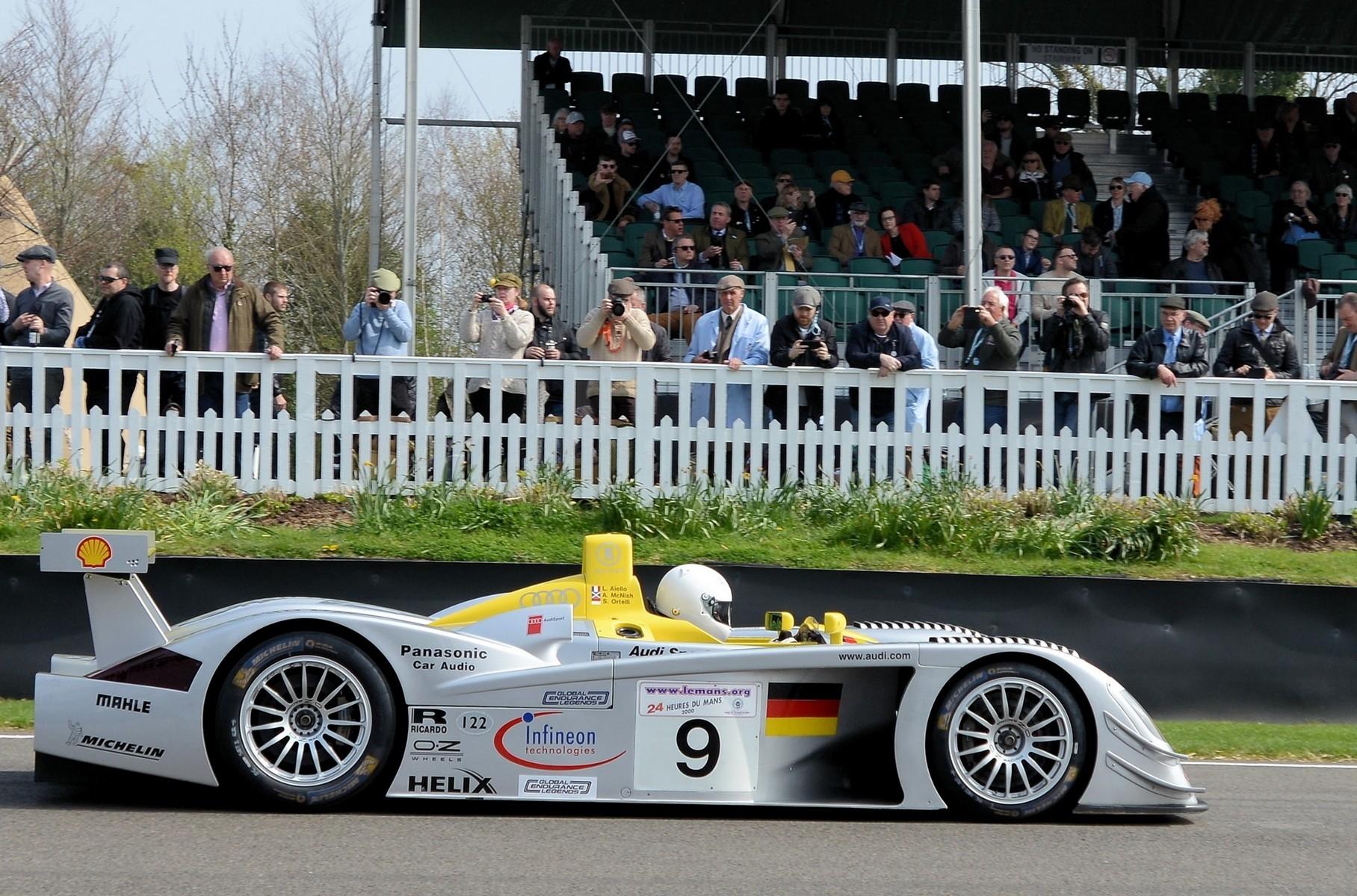 Продается один из легендарных Audi, побеждавших в Ле-Мане 20 лет назад