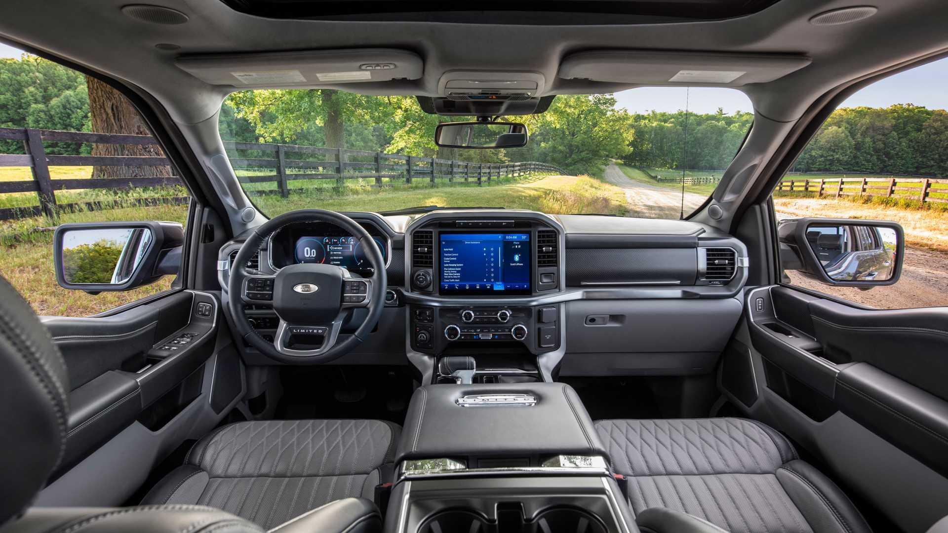 У Ford F-150 не будет надувных задних ремней безопасности
