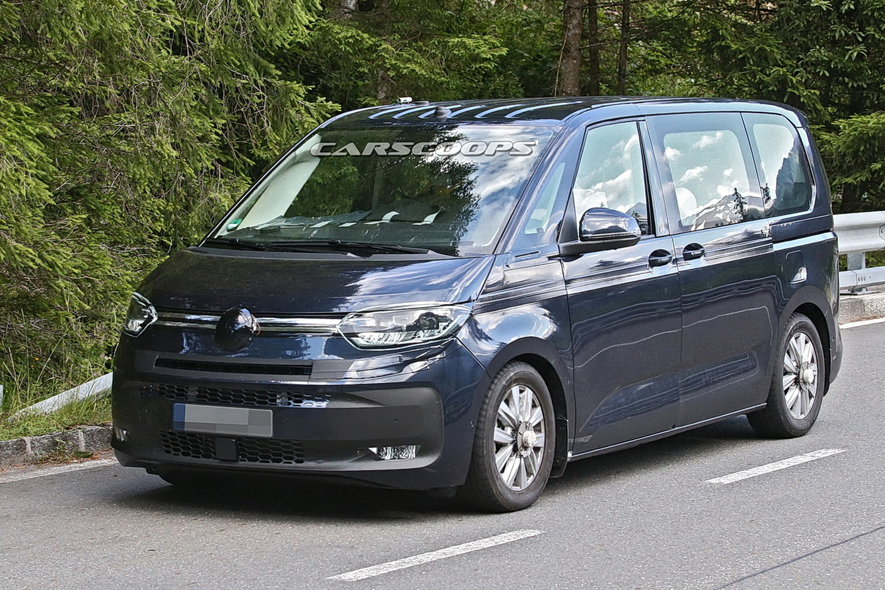 Раскрыта внешность нового минивэна Volkswagen T7
