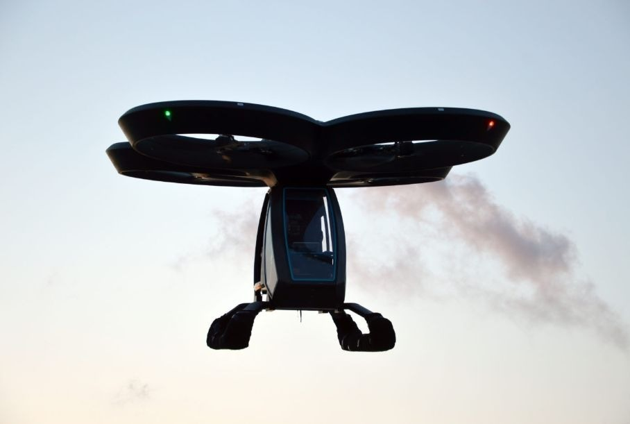 Видео: турецкий аэромобиль смог взлететь на 10 метров