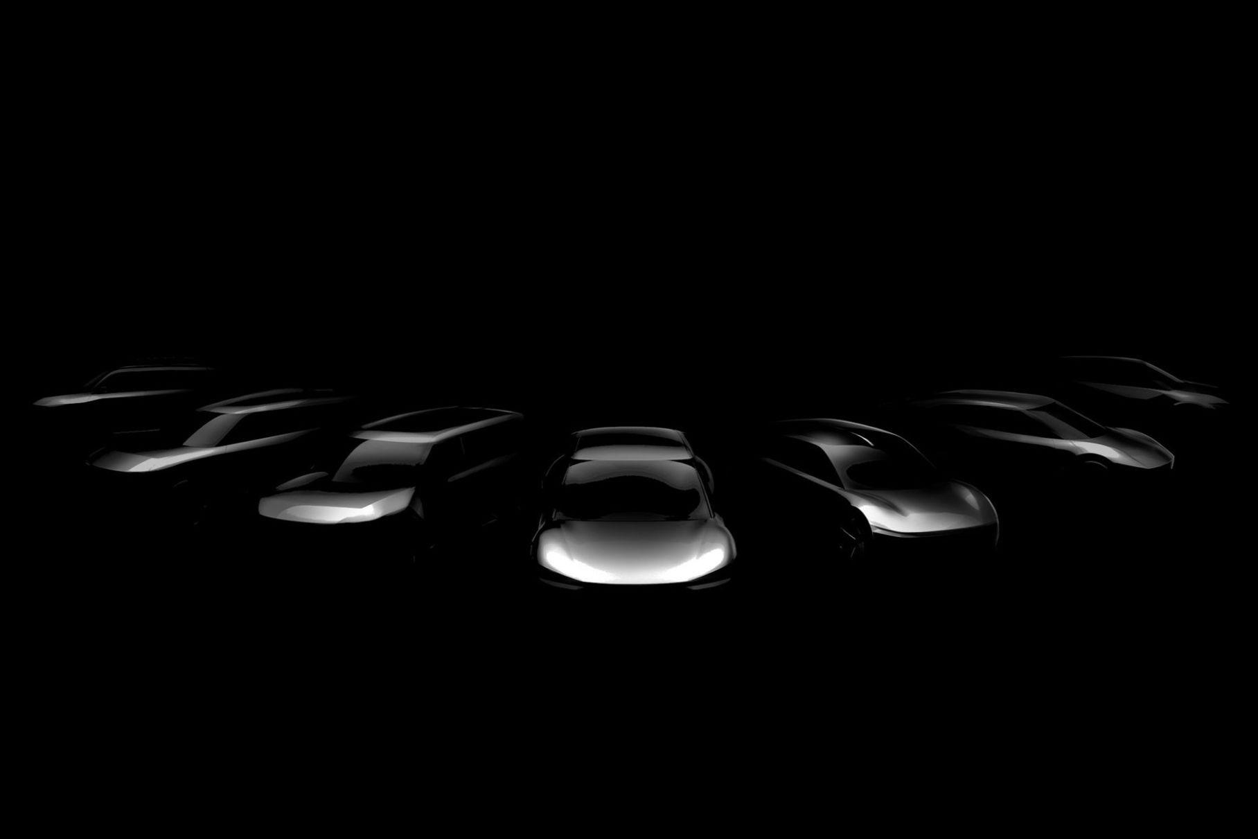 Семь электрокаров за 7 лет: Kia показала первое изображение будущих новинок