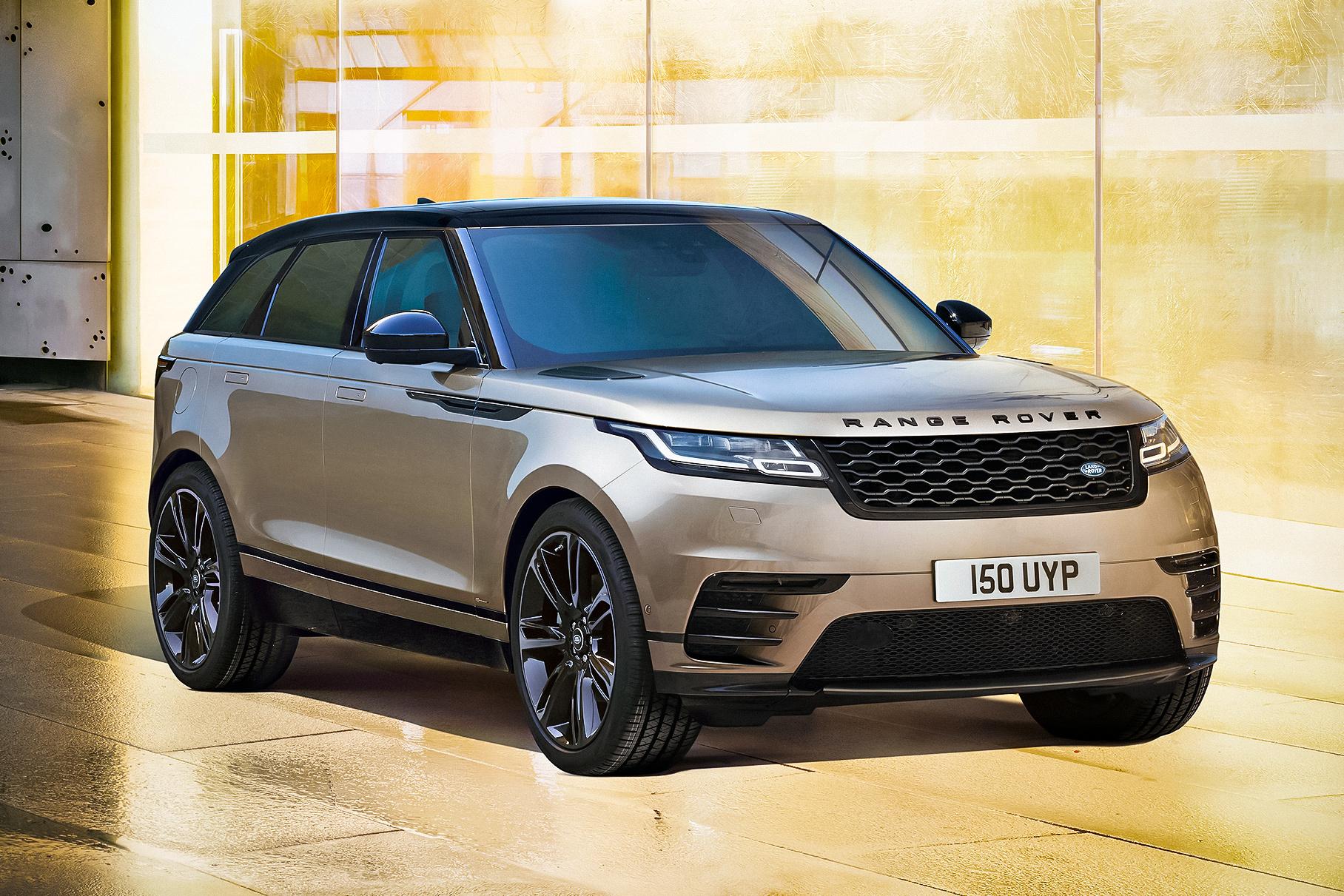 Range Rover Velar получил новые моторы и стал технологичнее