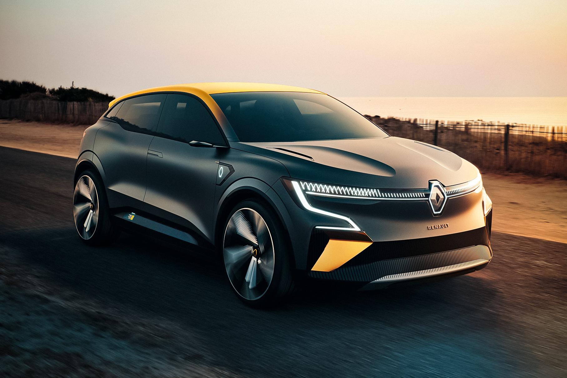 Новый концепт-кар Renault оказался электрическим Megane