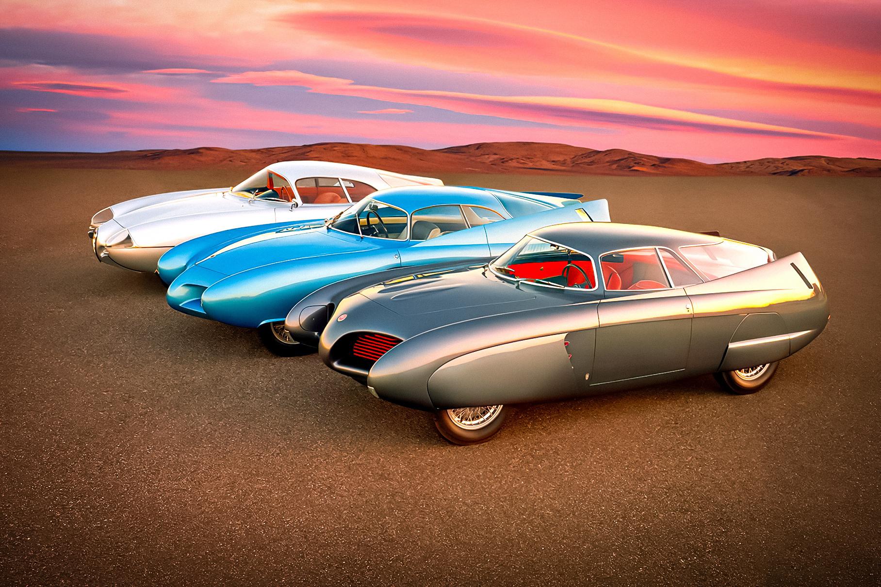 Три винтажных концепт-кара Alfa Romeo пустят с молотка