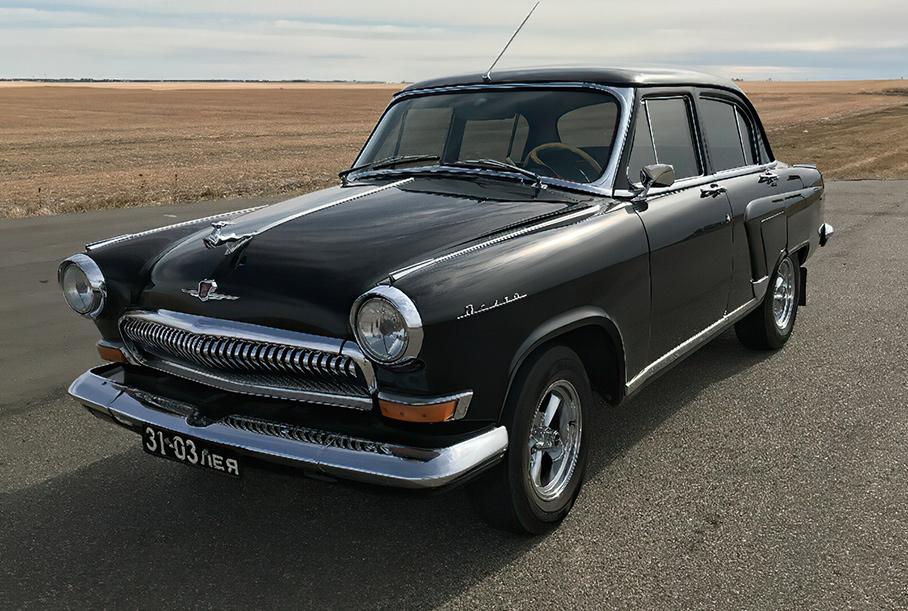 На продажу выставили идеальную «Волгу» из КГБ с двигателем V6 от Toyota